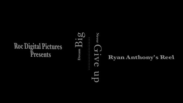 Ryan Anthony's Reel