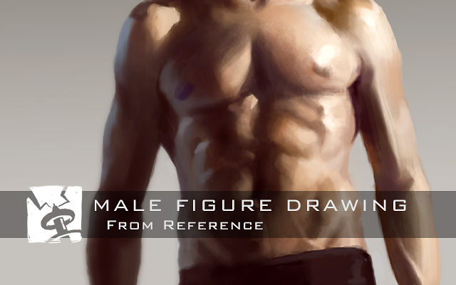 Male Figure Drawing - From Reference on Vimeo