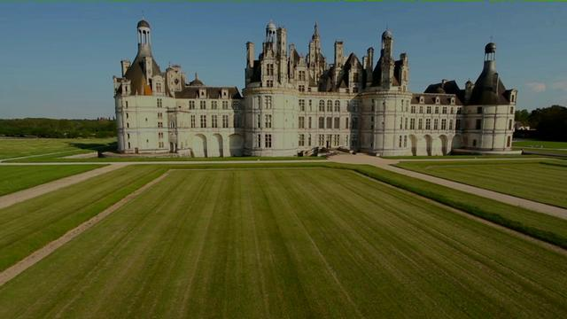 Domaine de Chambord film&eacute; en Drone pour France 2