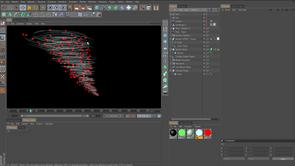 How to create a tornado in Cinema4D
