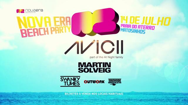 NOVA ERA BEACH PARTY - SPOT TV - Motion Graphics - 2012