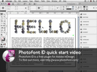 Introduction to Photofont ID on Vimeo