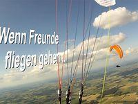 Wenn Freunde fliegen gehen ....