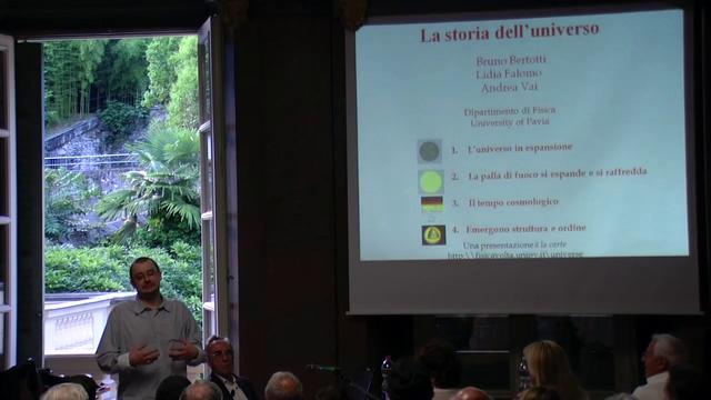 Bruno Bertotti - La storia dell'universo (1/6)