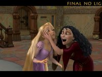 Progression of an Animated Shot: Gothel & Rapunzel Disney's Tangled