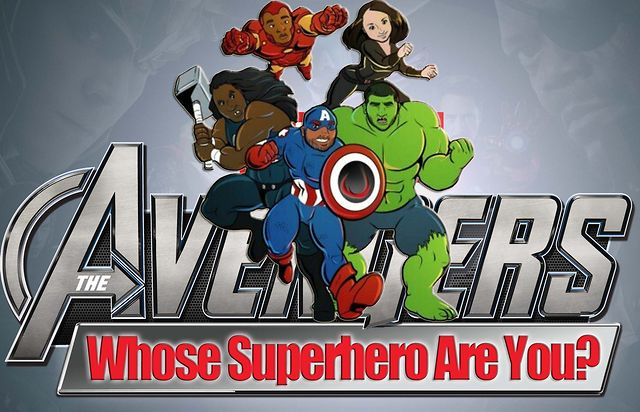 Marvel-Less Avengers: Whose Superhero are You wk 1