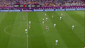 Daniel Agger vs Germany Euro 2012