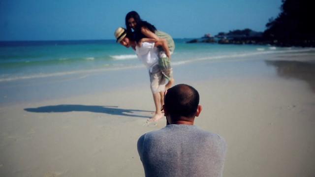 Koh samed honeymoon package photoshoot