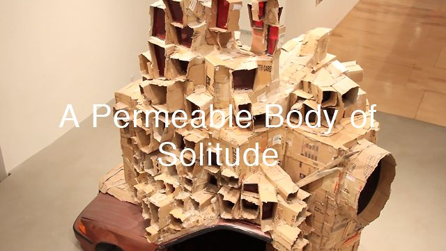 A Permeable Body of Solitude