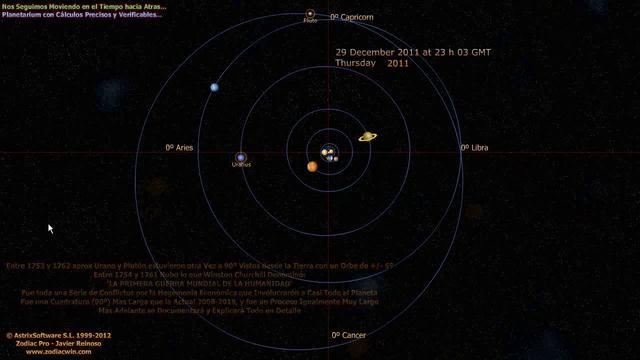 Respuesta a un Master en Astronomia y Astrofisica
