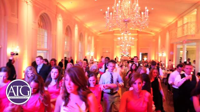 Charlotte Wedding DJ at Charlotte Country Club - ATG's Rick Hyburg at Katherine & Corey's Wedding