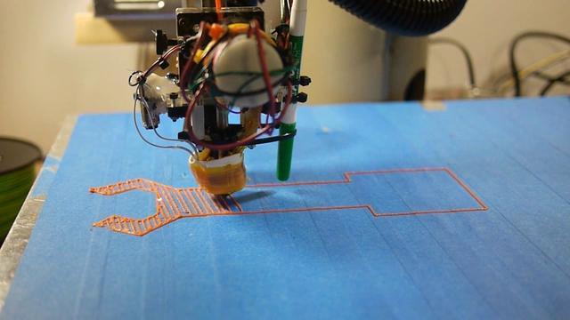 Scara Robot 3D ABS Printer
