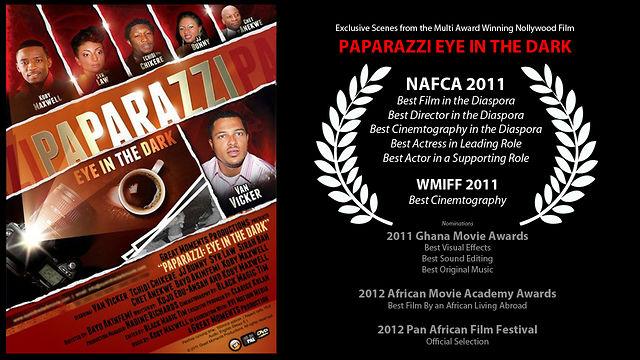 "Scenes From The Award Winning Nollywood Film ""Paparazzi Eye In The Dark"""