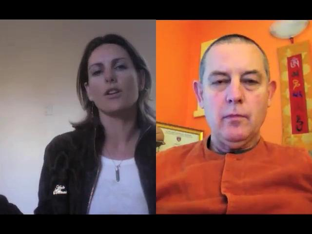 An interview with Swami Samnyasananda, a consultant neurophysiologist and yogi