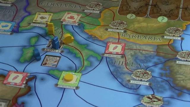 Burgevent des Heidelberger Spieleverlag 2012: Roma Caput Mundi (PD-Verlag)