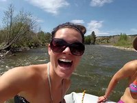 Summer Rafting with Keri Herman: ColdAsIce.TV in GoPro HD