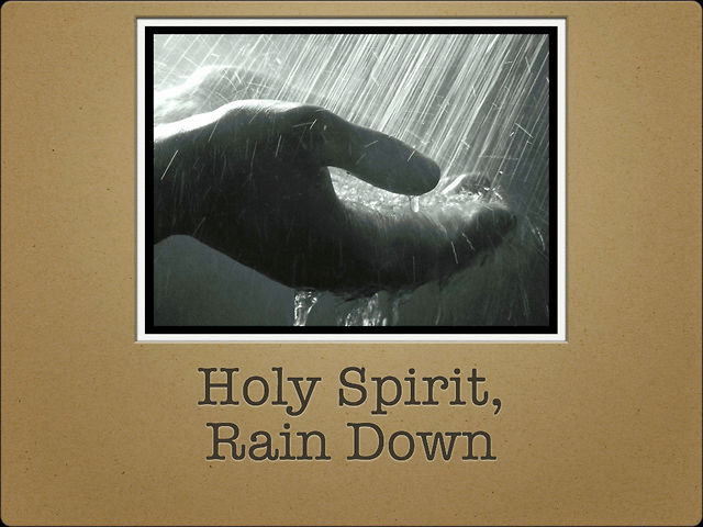 Holy Spirit Rain Down on Vimeo