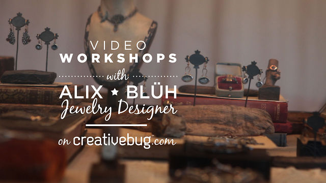 Alix Bluh on Creativebug