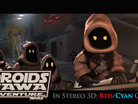 Star Wars: Droids 3D Short Anaglph Movie by Daniel L Smith