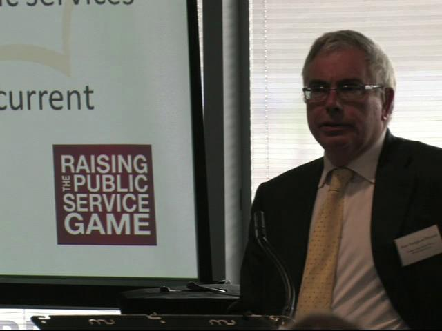 Opening Remarks - Raising the Public Service Game