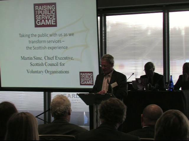 Martin Sime - Raising the Public Service Game