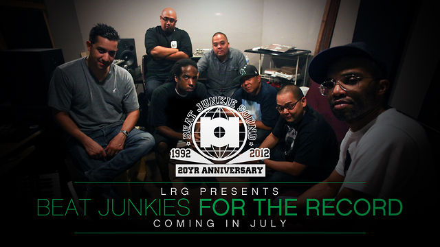 The Beat Junkies - For The Record documentary trailer (Video)