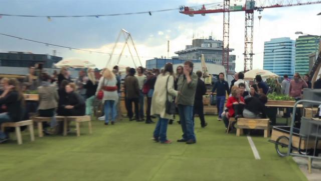 Roof Garden Arnhem - Opening 22 juni 2012