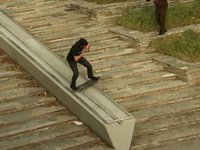 the C-Sides: Peter Raffin boardslide shotgun