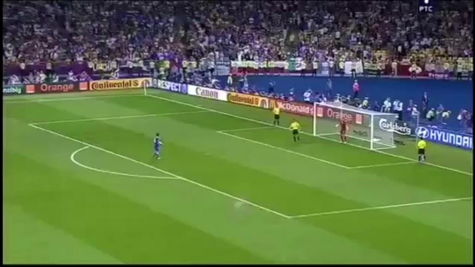 Panenka Andrea Pirlo Penalty (Italy vs England) Euro 2012