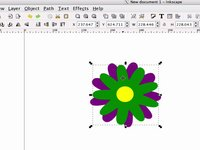 Create a Basic Flower in Inkscape for SCAL