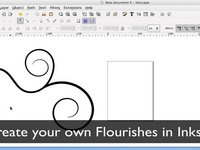 Inkscape Tutorial - Creating Flourishes