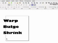 Inkscape Tutorial - Warping Text