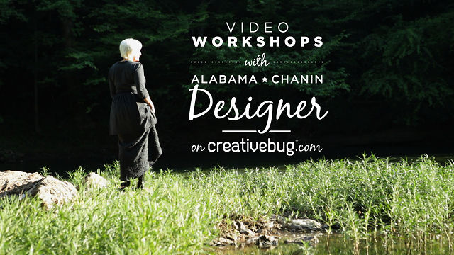 "Natalie ""Alabama"" Chanin on Creativebug"