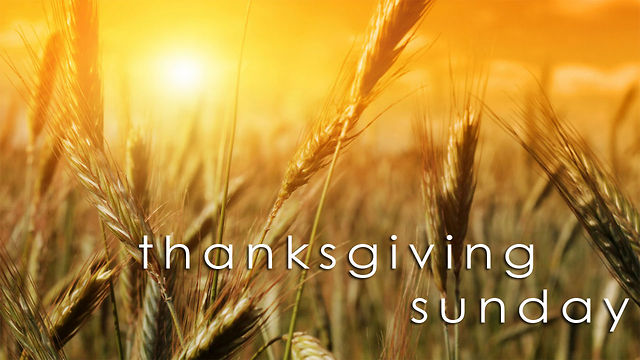 Image result for Thanksgiving Sunday