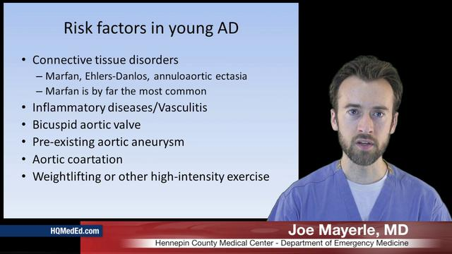 Aortic Dissection in Young Patients