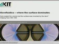 Microfluidics - Bettina Frohnapfel, Karlsruhe Institute of Technology
