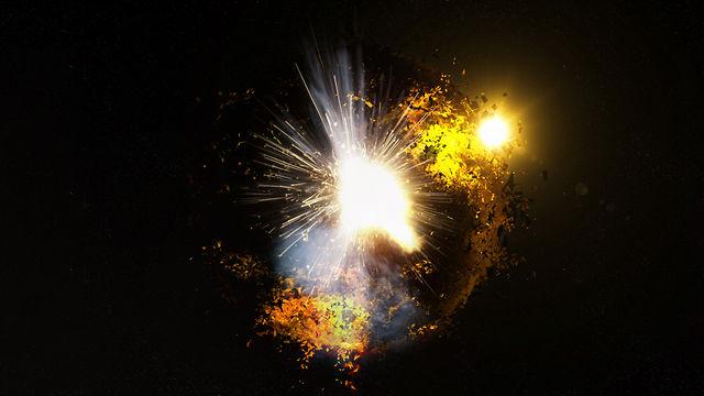 Exploding Planet on Vimeo