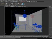Fly-through Animations with Indirect Illumination in Maya with V-Ray