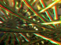 Gold Rush -3D (anaglyph) by Somewhere is Here