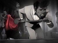 James Brown - It's Man's Man's World (Cartoon)