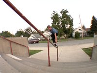 Alex Broskow in Kansas City while filming for his ABVX part set to release on July 4th, 2012