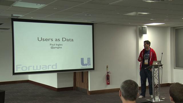 Users as Data