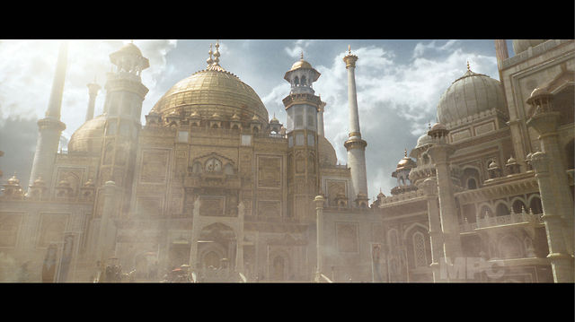 Fantastic environments for Prince of Persia