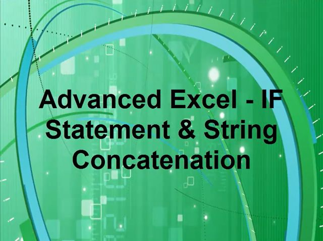 Advance Excel - IF Statement