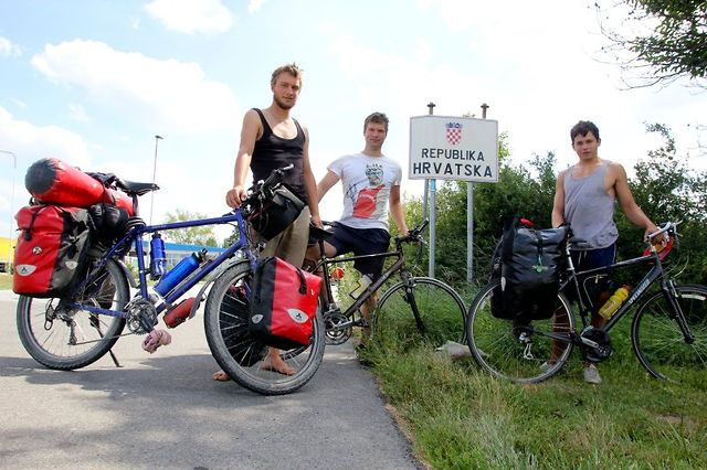 Discovering the world on a bicycle - Hungary