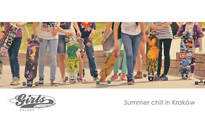Summer chill in Kraków- Longboard Girls Crew Poland