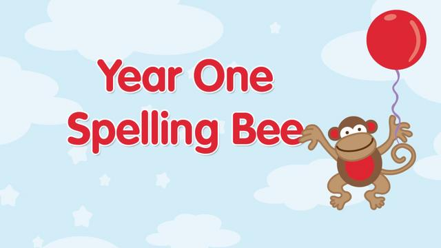 Year One Spelling Bee