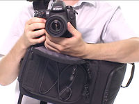 Tenba Shootout Photo Sling Bag: Fast, easy, perfect.