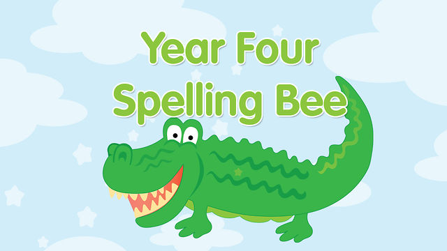Year 4 Spelling Bee