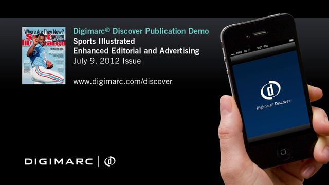 Sports Illustrated Advertising and Editorial - Digimarc Discover Example